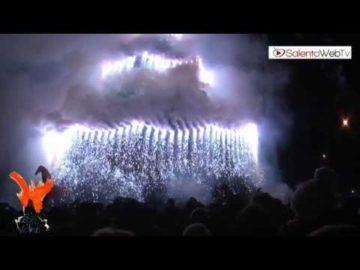 """La Fòcara di Novoli 2012 """"cavalca"""" il fuoco dell'arte"""