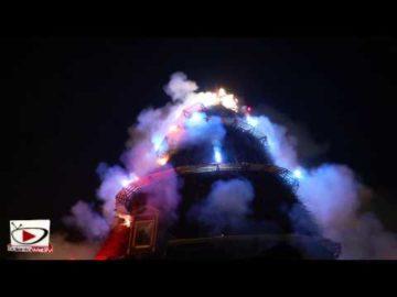 Focara 2014: L'accensione del fuoco più grande del Mediterraneo4