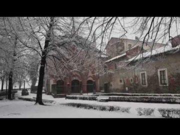 Sant'Antonio di Ranverso sotto la neve