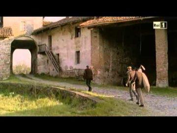 La leggenda del bandito e il campione fiction film Rai scene girate a Sant'Antonio Abate di Ranverso
