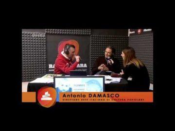 Direttore della Rete Italiana di Cultura Popolare Antonio Damasco di Torino parla della Fòcara