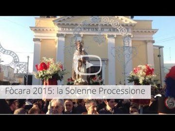 Focara 2015: la Solenne Processione