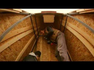 Il montaggio a Rivoli della tomba di tutan kamenn Pashedu