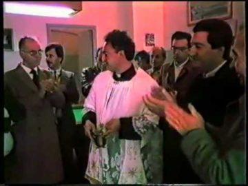 NOVOLI: Inaugurazione circolo S.Antonio 1986
