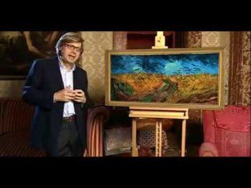 Sgarbi spiega analizzando i colori e paesaggio del dipinto il campo di grano Van Gogh