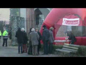 Festa con gli studenti all'Abbazia di Ranverso i Salentini presentano un video e foto sulla Fòcara di Sant'Antonio abate del fuoco di Novoli
