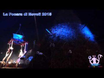 Acrobati sulla Fòcara di Novoli
